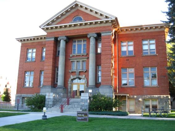 Rankin Hall, University of Montana, Missoula