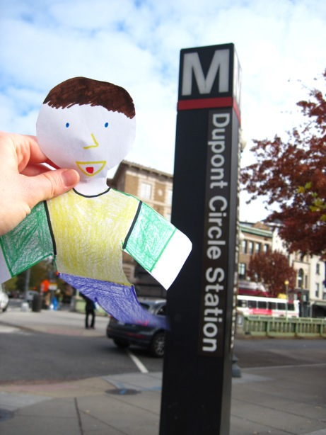 Flat Stanley at Dupont