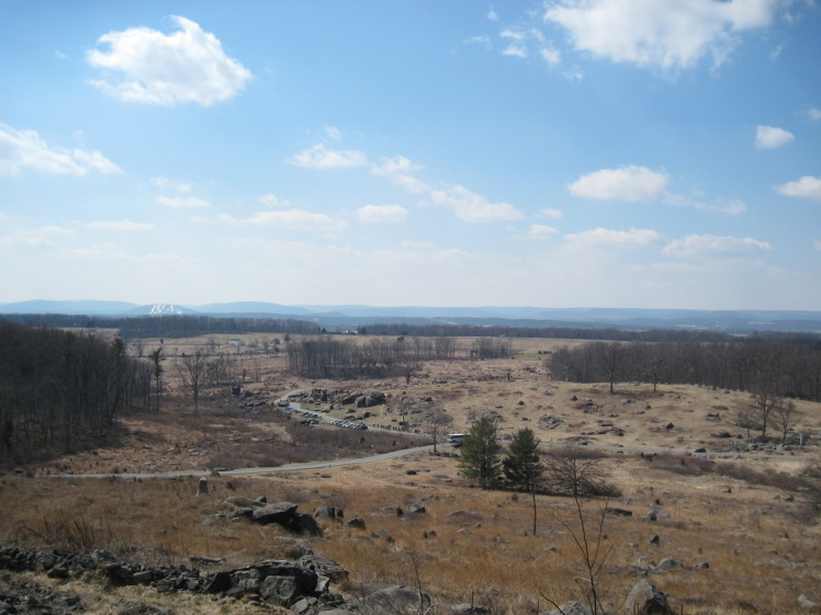 Little Round Top to Devil's Den