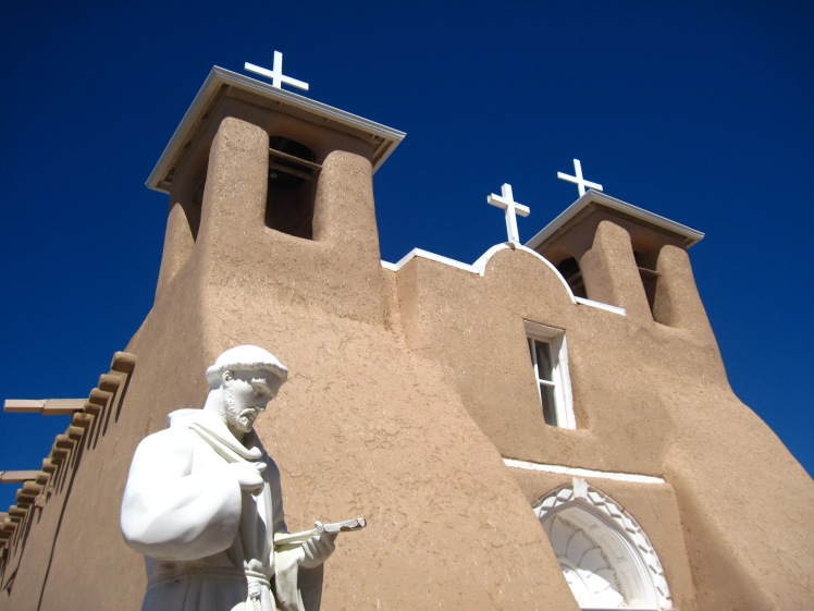 San Francisco de Asis Mission Church, Ranchos de Taos, New Mexico