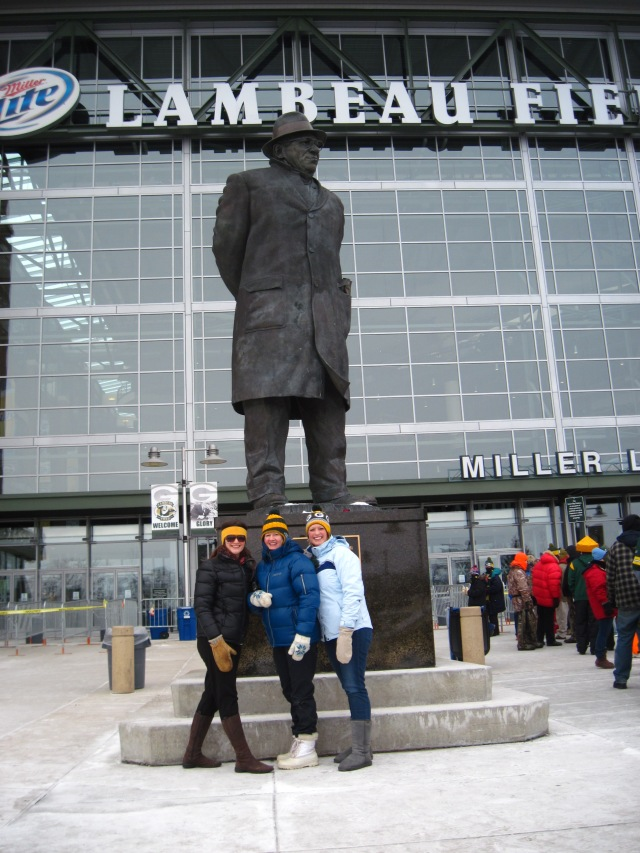 Ladies at Lambeau